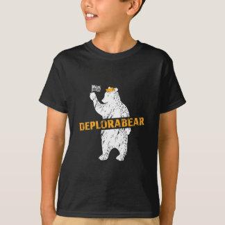 Lustiger Deplorabear Trumpf Amerika T-Shirt