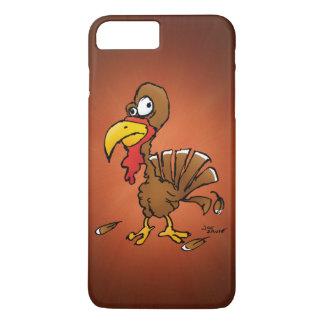 Lustiger Derp die Türkei Cartoon iPhone 8 Plus/7 Plus Hülle