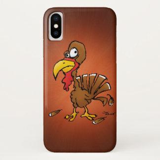 Lustiger Derp die Türkei Cartoon iPhone X Hülle