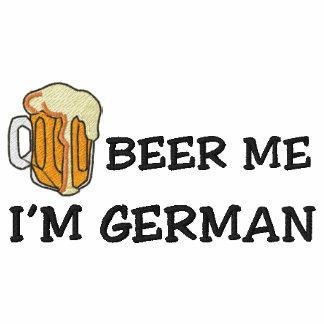 """Lustiger Deutscher """"ich bin deutsches Bier ich"""" ge Bestickte Polos"""