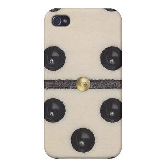 Lustiger Domino iPhone 4 Fall iPhone 4/4S Case