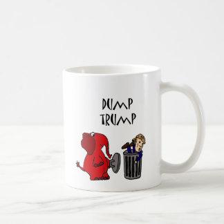 Lustiger Dump-Trumpf-politische Cartoon-Kunst Kaffeetasse