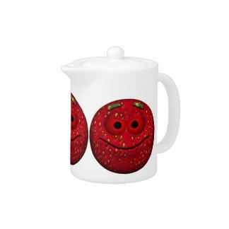 Lustiger ErdbeerEmoticon
