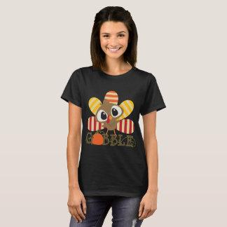 Lustiger Erntedank Gooble Truthahn-T - Shirt