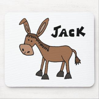 Lustiger Esel genannt Jack Mousepad