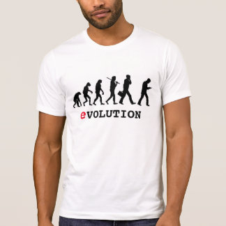 Lustiger Evolution Smartphone Süchtiger T-Shirt
