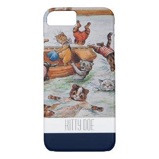 Lustiger Fall der Katzen-iPhone7 - iPhone 8/7 Hülle