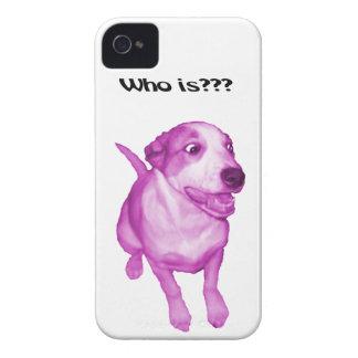 Lustiger Fall, lustiger Hund iPhone 4 Case-Mate Hülle