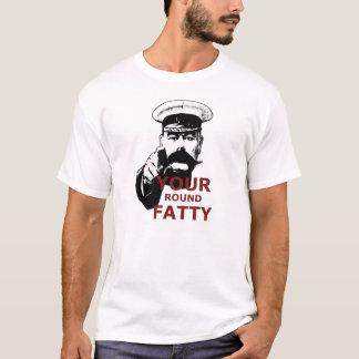 Lustiger fetter Witz T-Shirt