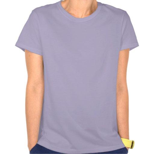 Lustiger Flamingo auf Ferien-T - Shirt