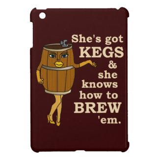Lustiger Frauen-Bier-Brauer iPad Mini Hülle