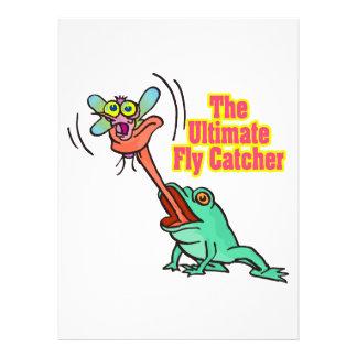 lustiger Frosch des entscheidenden Fliegenfängers Individuelle Einladungen