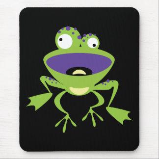 Lustiger Frosch Mauspads