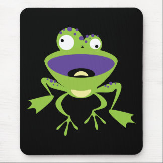 Lustiger Frosch Mousepad