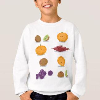 Lustiger Frucht-Spaß-Satz Sweatshirt