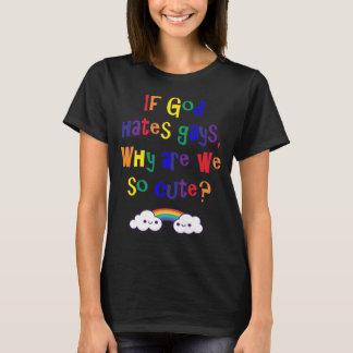 Lustiger Gay Pride, warum wir so niedlich sind T-Shirt