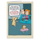 Lustiger Geburtstag: Hunderegeln Karte