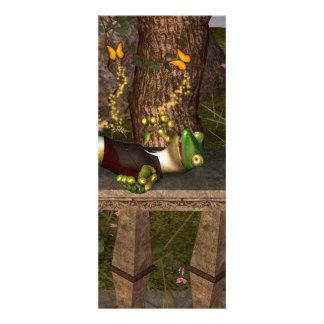 Lustiger Gecko Individuelle Einladungskarte