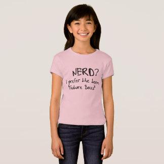 lustiger Geek-Nerd bevorzuge ich zukünftigen T-Shirt