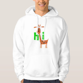 Lustiger GiraffeHoodie Kapuzensweatshirts