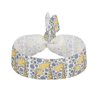 Lustiger Giraffen-Kunst-Haargummi Haarschleife