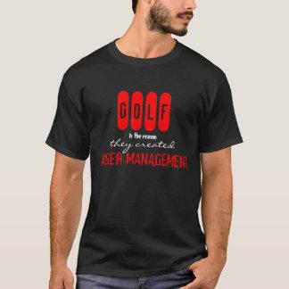 Lustiger GOLF Ärger-Management-T - Shirt