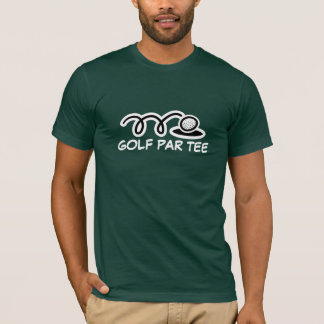 Lustiger Golf-T - Shirt