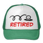 Lustiger Golfhut für pensionierte Männer Retrokappen