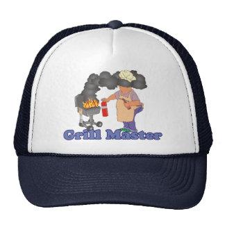 Lustiger Grill-Meister Caps