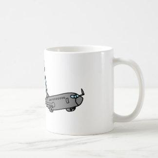 lustiger grimmiger Sensenmann Kaffeetasse