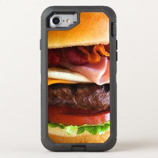 Lustiger großer Burger OtterBox Defender iPhone 8/7 Hülle