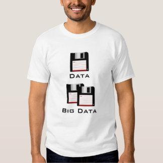 Lustiger großer Daten-T - Shirt