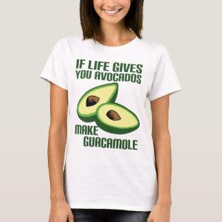 Lustiger Guacamole-Avocado-Witz T-Shirt