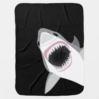 Lustiger Haifisch-Angriff Kinderwagendecke