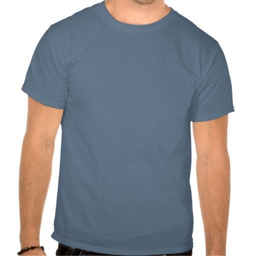 Lustiger Haifisch behalten Ruhe und schwimmen T Shirt