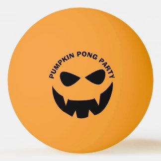 Lustiger Halloween-Kürbis Pong PartyPing Pong Ball Tischtennis Ball