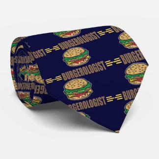 Lustiger Hamburger-Cheeseburger Krawatte