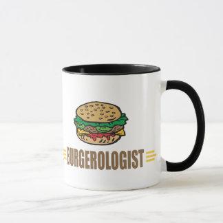 Lustiger Hamburger Tasse