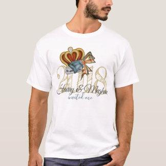 Lustiger Harry und Meghan luden mich T-Shirt