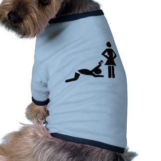 Lustiger Heiratantrag mit einer Kreditkarte Haustier T-shirts