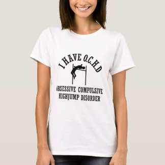 Lustiger Hochsprung T-Shirt