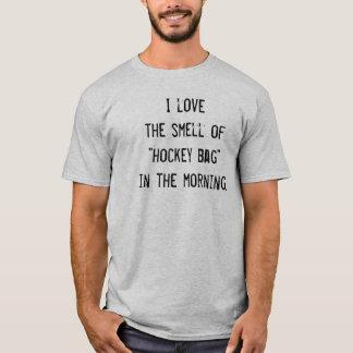 """Lustiger Hockey-T - Shirt - """"ich Liebe der Geruch…"""