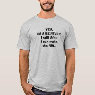 """Lustiger Hockey-T - Shirt - """"ja, bin ich ein"""