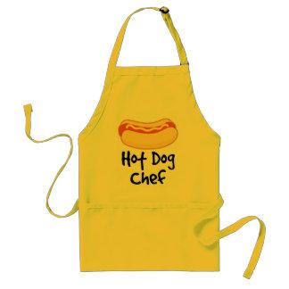 Lustiger Hotdog-Koch, der Geschenk kocht Schürzen