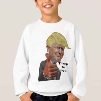 Lustiger humorvoller Produkt Donald Trump Trumpf Sweatshirt