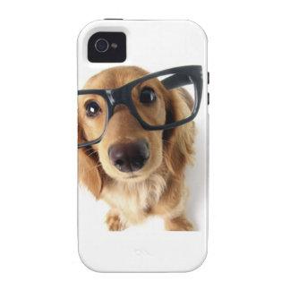 Lustiger Hund Vibe iPhone 4 Cover