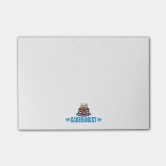 Lustiger i-Liebe-Kuchen Post-it Klebezettel
