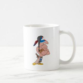Lustiger Inder Kaffeetasse