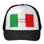 Lustiger italienischer Hut Retrokultkappe