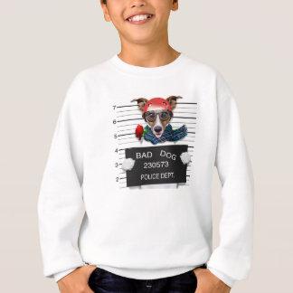 Lustiger Jack Russell, Mugshothund Sweatshirt